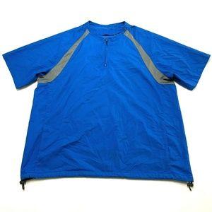 Oakley 1/4 Zip Short Sleeve Pullover Windbreaker